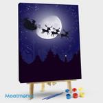 Santa's sleigh on Moon-1