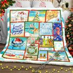 Beach Life Christmas Sofa Throw Blanket PS901