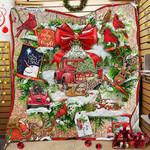 Beautiful Christmas Wreath Quilt PN867
