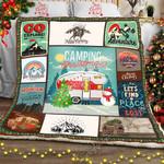Camping Christmas Sofa Throw Blanket SLB008