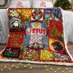 Christmas Begins With Christ Sofa Throw Blanket PSL866