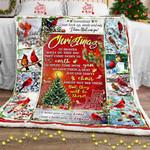 Christmas In Heaven Sofa Throw Blanket PSL613