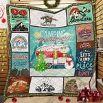 Camping Christmas Quilt SLB008