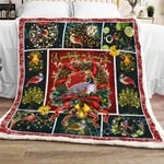 A Partridge In A Pear Tree  Sofa Throw Blanket MLH485