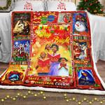 African American Christmas Sofa Throw Blanket PSL882