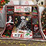 Christmas Nurse  Sofa Throw Blanket LHA431