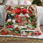 Beautiful Christmas Wreath Sofa Throw Blanket PN867