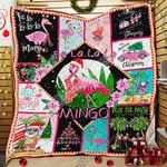 A Very Pink Christmas Quilt PSL903
