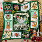 All I Want For Christmas Is A Sloth Quilt MLH548