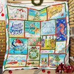 Beach Life Christmas Quilt PS901