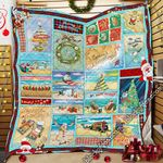 Beachy Little Christmas For You Quilt PN909