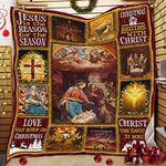 Christmas Begins With Christ  Quilt  MLH498