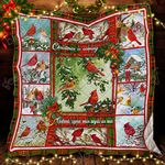 Christmas Cardinals Bird Quilt CTN62