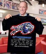 Buffalo bills 60th anniversary legends signature thank you for the memories for fan t shirt hoodie sweater sweater