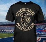 Sons of buffalo hashtag billsmafia for buffalo bills fan t shirt hoodie sweater sweater