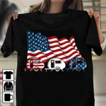 Camping trailers american flag for camping lover t shirt hoodie sweater sweater