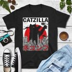 Catzilla godzilla funny for cat lover t shirt hoodie sweater sweater