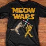 Meow wars not for cat lover funny t shirt hoodie sweater sweater