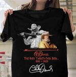 Charlie daniels signature the best there's ever been 1936 2020 for fan t shirt hoodie sweater sweater