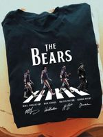 The chicago bears legends signature abbey road style for fan t shirt hoodie sweater sweater