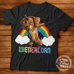 Dabbing dachshund wienercorn for dog lover funny t shirt hoodie sweater sweater