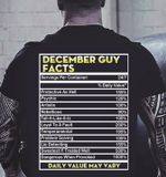 December guy facts daily value may vary temperamental problem solving lie detecting t shirt hoodie sweater sweater