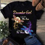 December girl live by the sun love by the moon dragonfly t shirt hoodie sweater sweater
