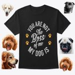 You are not the boss of me my dog is for lovers t shirt hoodie sweater sweater