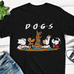 Famous cartoon dogs snoopy scooby doo brian griffin pluto t shirt hoodie sweater sweater