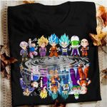 Dragon ball main characters son goku vegeta piccolo son gohan trunks krillin for fan t shirt hoodie sweater sweater