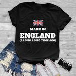 Made in england a long long time ago for british t shirt hoodie sweater sweater