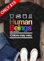 Human beings 100 percent organic colors may vary clothes label style t shirt hoodie sweater sweater