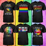 I am the rainbow sheep of the family rainbow color t shirt hoodie sweater sweater
