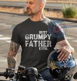 Best grumpy father ever t shirt hoodie sweater sweater