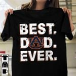 Logo auburn tigers best dad ever happy father's day t shirt hoodie sweater sweater
