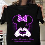 Fibromyalgia it came we fought i won minnie mouse t shirt hoodie sweater sweater