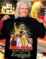 Freddie mercury the man the myth the legend for fan t shirt hoodie sweater sweater