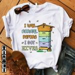Bee i was normal before i got hibes tshirt