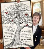 The beatles in my life lyric old tree cardinals for fan poster