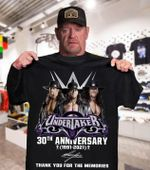 Undertaker signed 30th anniversary