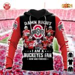 Damn right i am a ohio state buckeyes fan now and forever player signed