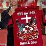 Kansas city chiefs one nation under god best players for fan
