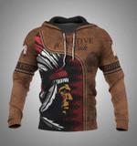 Native pride native american for lovers 3d printed hoodie