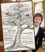 The beatles in my life lyrics cardinals old tree for fan poster poster canvas