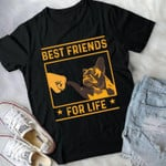 Best friends for life french bulldog shirt Tshirt Hoodie Sweater