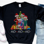The golden girls mashup friends christmas for fans Tshirt Hoodie Sweater