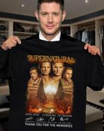 Supernatural winchester brothers main casts signed for fan thank you for memories