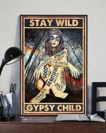 Stay wild good beautiful strong gypsy child poster canvas poster canvas