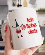 Ich liebe dich i love you mug