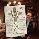 Mercyme i can only imagine lyric poster canvas